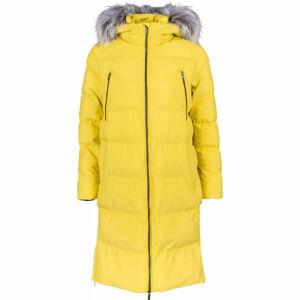Lotto MIMOSA žlutá L - Dámský prošívaný kabát