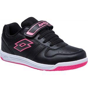 Lotto SET ACE XI CL SL růžová 27 - Dětská volnočasová obuv