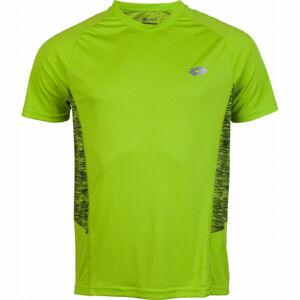 Lotto SPEEDRUN II TEE RGL PL žlutá S - Pánské tričko