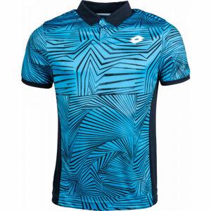 Lotto SUPERRAPIDA III POLO PL černá M - Pánské sportovní tričko