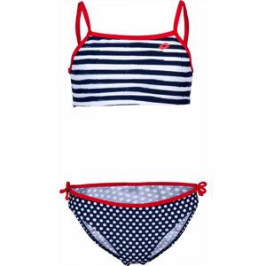 Lotto LYRA modrá 140-146 - Dívčí dvoudílné plavky