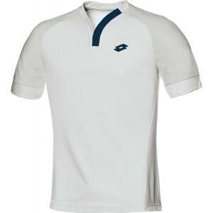 Lotto T-SHIRT CARTER bílá L - Pánské sportovní triko
