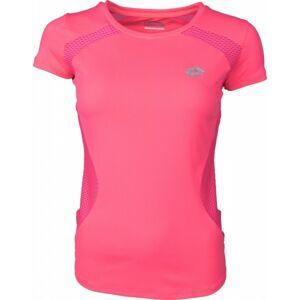Lotto X RIDE URSULA IV TEE růžová L - Dámské sportovní triko