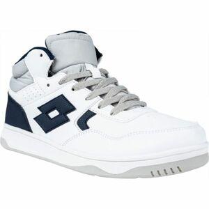 Lotto TRACER MID LTH JR L bílá 36 - Chlapecká volnočasová obuv