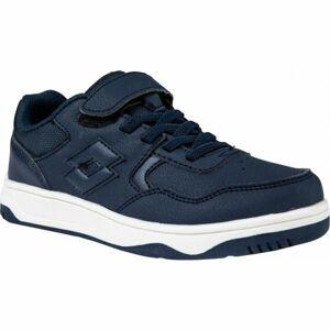 Lotto TRACER NU CL SL modrá 30 - Chlapecká volnočasová obuv