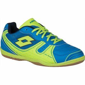 Lotto TACTO 500 III JR modrá 34 - Chlapecká sálová obuv