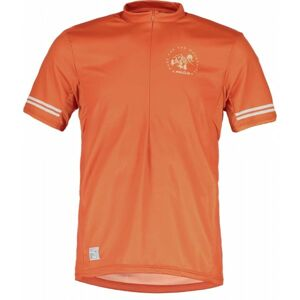 Maloja DOMENICA M. ALL MOUNTAIN oranžová XS - Dres s krátkým rukávem