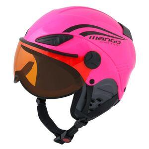 Mango ROCKY PRO růžová (53 - 55) - Dětská sjezdová helma