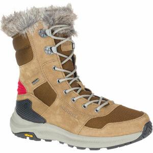 Merrell ONTARIO TALL PLR WP hnědá 6 - Dámské zimní boty