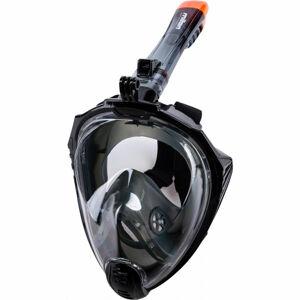 Miton UTILA 2 černá L/XL - Celoobličejová šnorchlovací maska