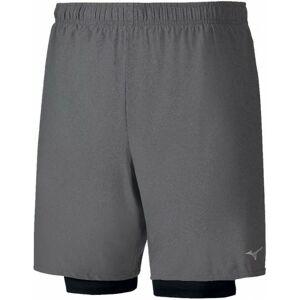 Mizuno ALPHA 7.5 2IN1 SHORT  L - Pánské běžecké šortky