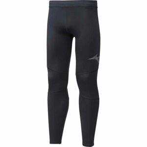 Mizuno WARMALITE TIGHT černá M - Pánské zateplené elastické kalhoty