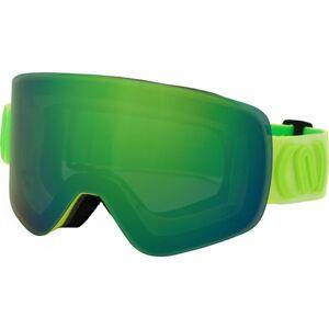 Neon MAD žlutá NS - Lyžařské brýle