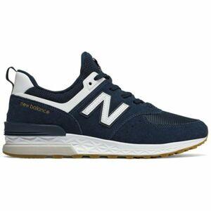 New Balance MS574FCN tmavě modrá 8.5 - Pánská volnočasová obuv