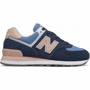 New Balance WL574WND tmavě modrá 6 - Dámská vycházková obuv