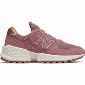 New Balance WS574ATG růžová 6.5 - Dámská volnočasová obuv