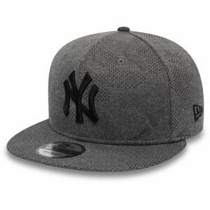 New Era 9FIFTY MLB ENGINEERED PLUS NEW YORK YANKEES šedá M/L - Pánská klubová kšiltovka