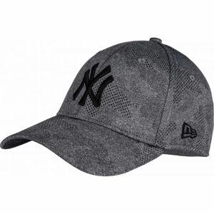 New Era 39THIRTY ENGINEERED PLUS NEW YORK YANKEES šedá S/M - Pánská klubová  kšiltovka