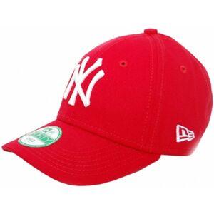 New Era 9FORTY K MLB LEAGUE BASIC NEYYAN červená  - Dětská klubová kšiltovka