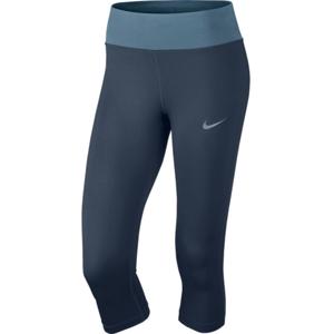 Nike NK PWR ESSNTL CPRI DF šedá S - Dámské běžecké legíny