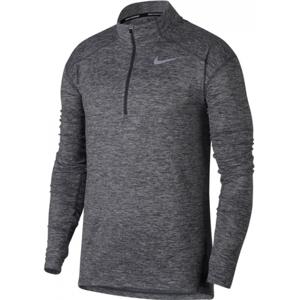 Nike DRY ELMNT TOP HZ šedá L - Pánský běžecký top