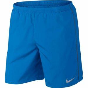 Nike RUN SHORT modrá M - Pánské běžecké šortky