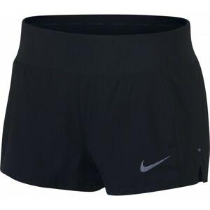 Nike ECLIPSE 3IN SHORT W černá M - Dámské běžecké šortky