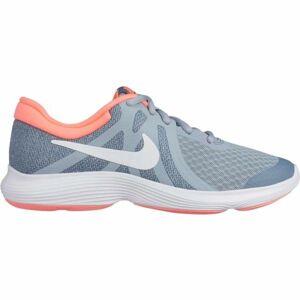 Nike REVOLUTION 4 GS šedá 4.5Y - Dětská běžecká obuv
