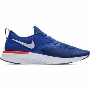 Nike ODYSSEY REACT FLYKNIT 2 modrá 8 - Pánská běžecká obuv