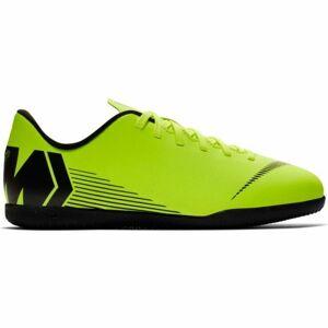 Nike JR MERCURIALX VAPOR 12 CLUB IC světle zelená 2Y - Dětské sálovky