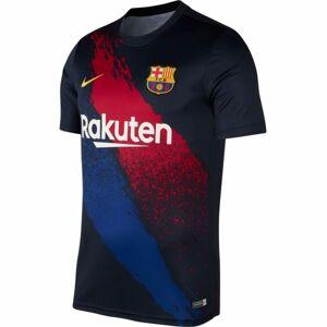 Nike FCB M NK DRY TOP SS PM černá L - Pánské tričko