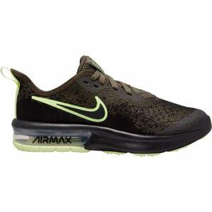 Nike AIR MAX SEQUENT 4 tmavě zelená 5.5 - Dětská volnočasová obuv