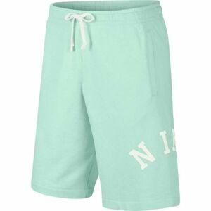 Nike NSW CE SHORT FT WASH zelená XL - Pánské šortky