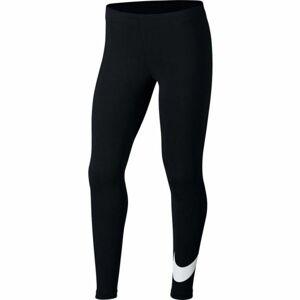 Nike NSW FAVORITES SWSH černá L - Dívčí legíny