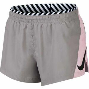 Nike ELEVATE TRCK SHORT SD šedá XL - Dámské šortky