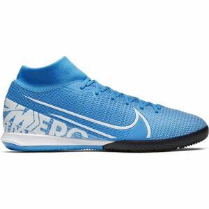 Nike MERCURIAL SUPERFLY 7 ACADEMY IC modrá 11.5 - Pánské sálovky
