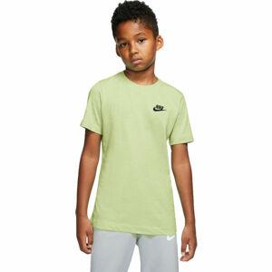 Nike NSW TEE EMB FUTURA B  M - Chlapecké tričko