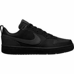 Nike COURT BOROUGH LOW 2 GS černá 6 - Dětská volnočasová obuv