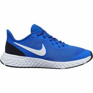 Nike REVOLUTION 5 GS modrá 6Y - Dětská běžecká obuv