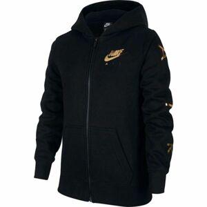 Nike NSW NIKE AIR FLC FZ černá S - Dívčí mikina
