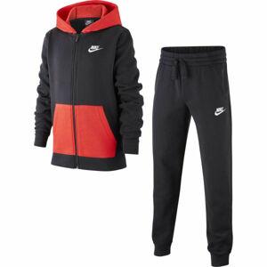 Nike NSW TRK SUIT CORE BF B  S - Chlapecká tepláková souprava
