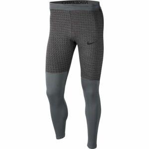 Nike NP TGHT LS UTILITY THRMA M šedá 2XL - Pánské legíny
