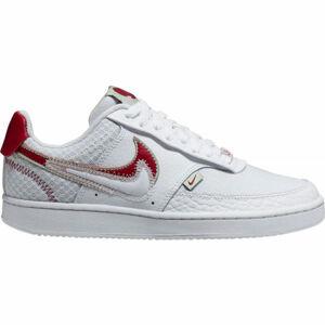 Nike COURT VISION LO PRMV WMNS bílá 9.5 - Dámská volnočasová obuv