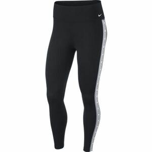 Nike ONE TGHT CROP NOVELTY W černá S - Dámské legíny