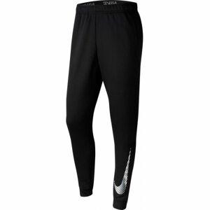 Nike DRY PANT TAPER FLC GFX M černá S - Pánské tréninkové kalhoty