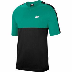 Nike NSW CE TOP SS HYBRID M zelená XL - Pánské tričko