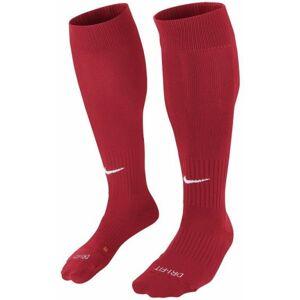 Nike CLASSIC II CUSH OTC -TEAM červená L - Fotbalové štulpny