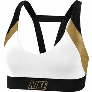 Nike INDY METALLIC LOGO BRA  L - Dámská sportovní podprsenka