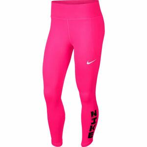 Nike ICNCLSH FAST TIGHT 7/8 W růžová M - Dámské legíny