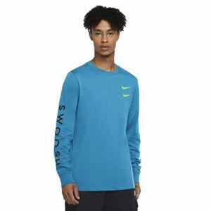 Nike NSW LS TEE SWOOSH PK M  M - Pánské tričko